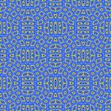 Seamless blue retro texture stock image