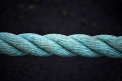 Seamless  Blue Rope Stock Images