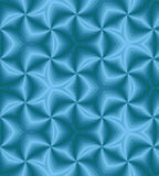 Seamless Blue Spirals. Geometric Pattern. Suitable for textile, fabric,  packaging and web design. Stock Photo
