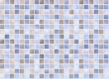 Seamless blue square tiles Royalty Free Stock Images