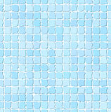 Seamless Blue Tile Pattern Stock Photos