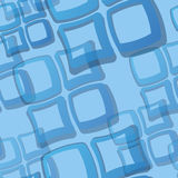 Seamless Blue Tile Pattern Royalty Free Stock Images