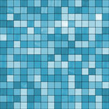 Seamless blue tiles background. Stock Images