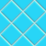 Seamless blue tiles texture background Royalty Free Stock Photos