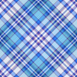 Seamless blue, violet and white diagonal pattern Royalty Free Stock Image
