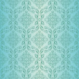 Seamless blue wallpaper. Stock Photos