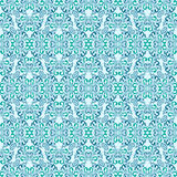 Seamless blue wallpaper. Royalty Free Stock Image