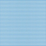 seamless blue white checkered Oktoberfest background Stock Photos