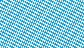 seamless blue white checkered Oktoberfest background royalty free stock images
