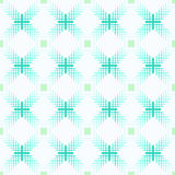 Seamless blue and white geometrical pattern Royalty Free Stock Photo