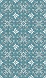Seamless blue white pattern Stock Photos