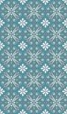 Seamless blue white pattern Stock Photos