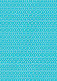 Seamless blue and white pattern texture background vector Stock Photo