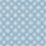 Seamless Blue & White Spirals Background Wallpaper Stock Image