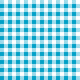 Seamless blue white tablecloth pattern Stock Photography