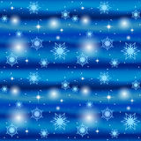 Seamless blue winter background Royalty Free Stock Images