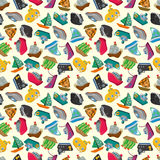 Seamless boat pattern Stock Images