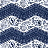 Seamless bohemian ornament. Ethnic and tribal motifs. Paisley pa Stock Images