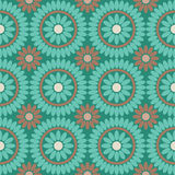 Seamless boho style pattern for decoration Royalty Free Stock Image