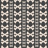 Seamless Bone Pattern Stock Photo
