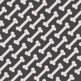 Seamless Bone Pattern Royalty Free Stock Images