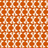 Seamless Bone Pattern Stock Photography