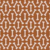 Seamless Bone Pattern Stock Images