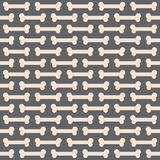 Seamless Bone Pattern Stock Image