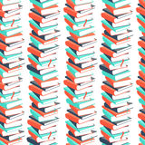 Seamless book pattern Royalty Free Stock Image