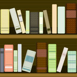 Seamless bookshelf Royalty Free Stock Photography