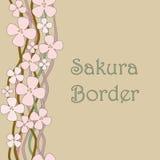 Seamless border Stock Photos