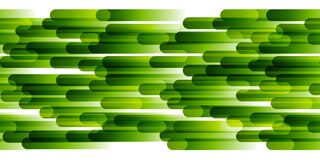 Seamless border with stripes. Seamless border with green stripes Royalty Free Stock Photography