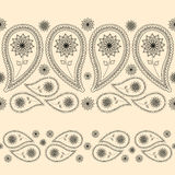 Seamless border for lace, wallpaper. Seamless background for your design stock illustration