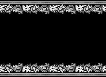 Seamless border pattern Stock Images