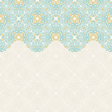 Seamless border vector ornate in Eastern style. Islam pattern Royalty Free Stock Photos