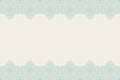 Seamless border vector ornate in Eastern style. Islam pattern Royalty Free Stock Image