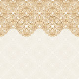 Seamless border vector ornate in Eastern style. Islam pattern Stock Photo