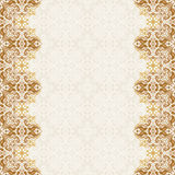 Seamless border vector ornate in Eastern style. Islam pattern Royalty Free Stock Photography