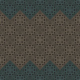 Seamless border vector ornate in Eastern style Stock Photo