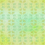 Seamless botanic elements watercolor pattern Royalty Free Stock Photography