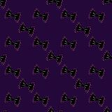 Seamless bow tie seamless pattern on a background. Stock Photos