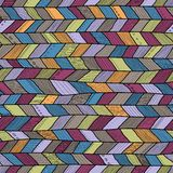 Seamless  braided pattern, pastel colors. For backgrounds, fashion textile and other Stock Photo