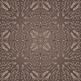 Seamless braun  vintage pattern. Seamless braun vintage detailed pattern Royalty Free Stock Photos