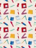 Seamless brevpappermodell Fotografering för Bildbyråer