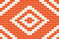 Seamless brick background. Stock Images