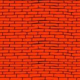 Seamless brick pattern Royalty Free Stock Photos