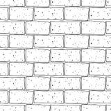 Seamless brick pattern Royalty Free Stock Photo