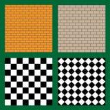 Seamless brick texture. Seamless tile texture Stock Image