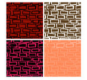 Seamless Brick Vector Royalty Free Stock Image