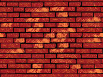 Seamless brick wall Stock Image